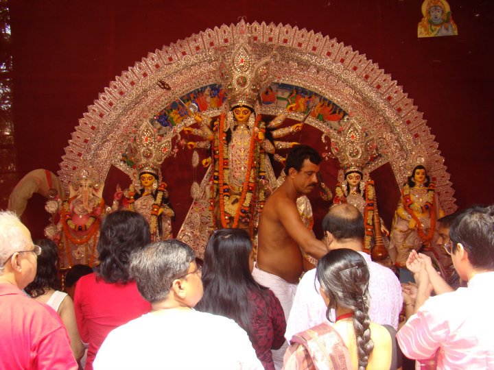 Pujo Celebrations 2011 Millennium Tower New Town